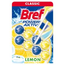 WC-värskendaja Bref Power Lemon 2x50ml