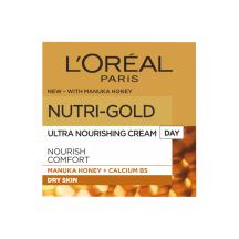 Dien. veido kremas L'OREAL NUTRI GOLD, 50ml