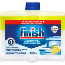 Līdzeklis Finish trauku mazg. maš. tīr. 250ml