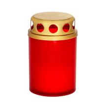Kapų žvakė P-2R raud. dega iki 8val.