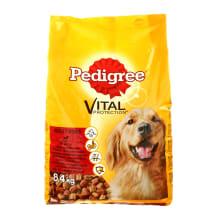 Suņu barība Pedigree liellopa dārzeņu 8.4kg