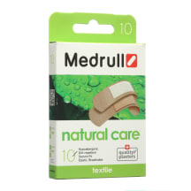 Pleistrai MEDRULL NATURAL CARE, 10 vnt.