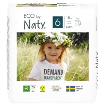 Biksītes Eco By Naty xl 16+kg 18gb