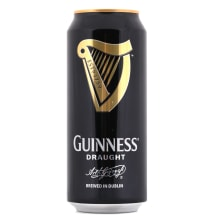 Alus Guinness Draught 4,2% 0,44l