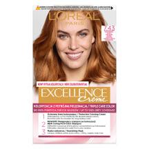 Plaukų dažai L'OREAL EXCELLENCE, Nr.7.43