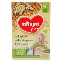 Pieniška grikių košė MILUPA, 6 mėn., 225g