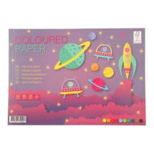 Värviline paber KPFactory College A4/20l
