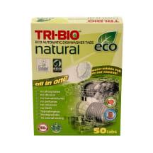 Ekolog. tabletės indaplovėms TRI-BIO, 50vnt.