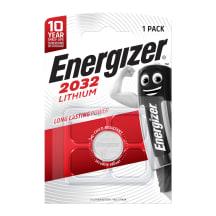 Baterijas Energizer Lithium CR2032 3V x1