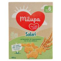 Sausainiai MILUPA SAFARIS, 6 mėn., 180g