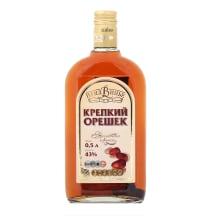 Stiprs alk. dzēriens Krepkij Orešel 43% 0,5l