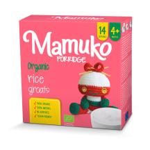 Ekol. ryžių MAMUKO kruopytės, 4 mėn., 240g