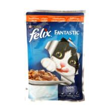 Kons. kaķiem Felix ar tītara gaļu 100g