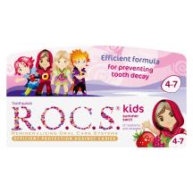 Vaikiška dantų pasta R.O.C.S. 4–7m., 35ml