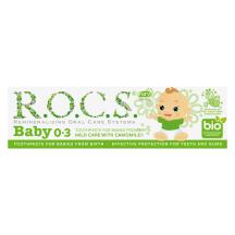 Zobu pasta Rocs Baby kumelīšu,0-3 mēneši,35ml