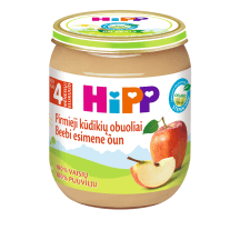 Ekol.ob. tyrelė kūd., HIPP BIO, 4 mėn., 125g