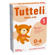 Piimasegu Tutteli 1 imikule 0-6kuud 350g