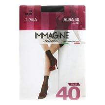M kojinaitės IMMAGINE ALBA 40d NERO