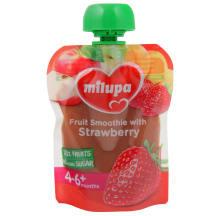 Puuviljapüree maasikatega Milupa 4-6k 80g