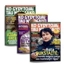 Žurnalas KO GYDYTOJAI TAU NEPASAKO