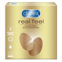 Prezervatyvai DUREX REAL FEEL, 3vnt