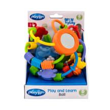 Žaislas kamuolys barškutis žaisk ir moky