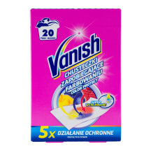 Salvetes Vanish Color Protect 10 gab.