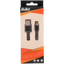USB - MICRO laidas BULLET, 1 m