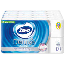 Tual. pap. Zewa Deluxe pure white 3k. 40r.