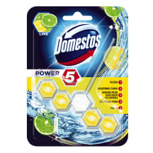 Tualtes bloks Domestos power 5 lime 55g