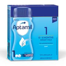 Piena maisījums Aptamil 1 no dzimšanas 400ml