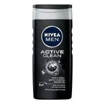 Dušigeel Nivea Active Clean meestele