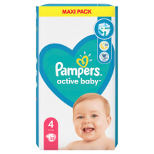 Mähkmed Pampers MP S4 9-14kg 58tk