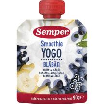 Ger.jogurt.tyrė SEMPER SMOOTHIE, 6mėn., 90g