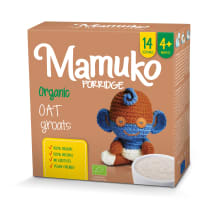 MAMUKO ekol. avižų kruopytės, 4 mėn., 240g
