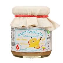 Obuol. bananų tyrelė MARMALUZI, 6 mėn., 125g
