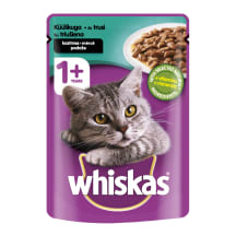 Kaķu kons. whiskas ar truša gaļu, 100g