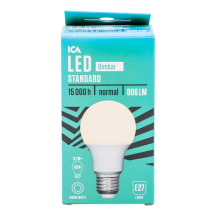 LED lemputė ICA HOME, 9,5 W, 806Lm, E27