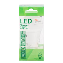 LED lemputė ICA HOME, 6,5 W, 470 Lm, E27