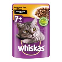 Kassieine Whiskas 7+ kanalihaga 100 g