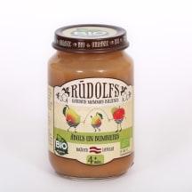 Biezenis Rūdolfs ar ābolu bumbieru BIO 190g