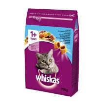 Sausā kaķu barība Whiskas Adult ar tunci 950g