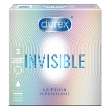 Prezervatīvi Durex Invisible Extra Sens. 3gb.