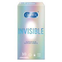 Prezervay. Durex Invisible Extra Sens. 10 gb.