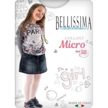 Meiteņuzeķub.Bell.Micro 50 bianco 8