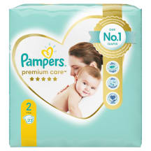 Autiņbiksītes pampers Premium Care S2 23gb