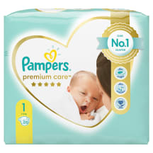 Mähkmed Pampers PC S1 2-5kg 26tk