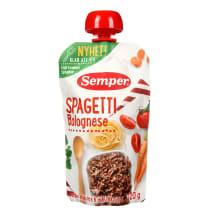 Biezp.Semper spageti, boloņas m. 6 mēn.120g