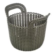 Stačiakampis krepšys Knit XS 3L ruda