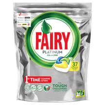 Tr.m.kaps. Fairy Platinum Lemon 37gab.